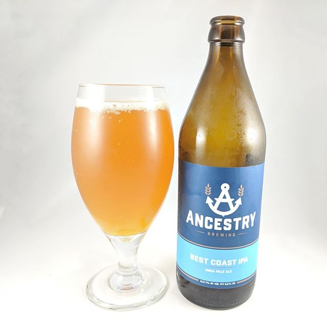"Beer: Best Coast IPA Style: IPA (American) ABV: 7.0 IBU: 77 Hops: ? ———————————– Brewery: Ancestry Brewing Brewery IG: @ancestrybrewing ———————————– Rating: 3.5/5 Notes: ""Powerful citrus hop aromas that fade to pine"" is what the bottle says. It's the truth. This beer tastes like it could be an imperial ipa. Bitter and pine finishing notes are certainly the highlights of this beer. ———————————– #ancestrybrewing #ancestrybeer #beer #thebeersbeer #beers #cheers #brewery #brew #beersoftheworld"