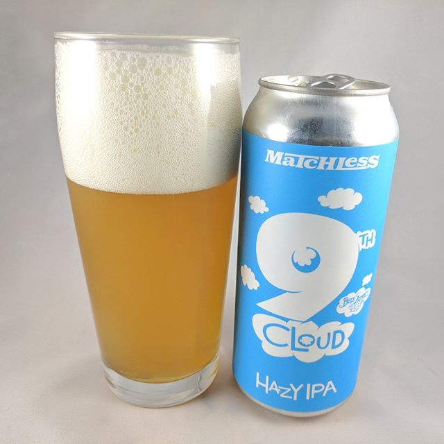 Beer: 9th Cloud Hazy IPA Style: Hazy IPA ABV: 7.2 IBU: ? Hops: Waimea, El Dorado, Citra ———————————– Brewery: Matchless – Tumwater, WA Brewery IG: @matchlessbrewing ———————————– Rating: 4.5/5 Notes: Tasty, hazy NE style IPA. Plenty of hops and a nice overall taste. Not fruity or sweet which is nice with all the fruity hazes out there. It's a limited release so get it while you can. ———————————– #matchlessbrewing #beer #thebeersbeer #beers #cheers #brewery #brew #hazyipa #haze #hazy #ipa #ipabeer #beersoftheworld