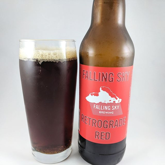 Beer: Retrograde Red Style: Red/Amber ABV: 7.4% IBU:70 Hops: ? ———————————– Brewery: Falling Sky Brewing – Eugene, OR Brewery IG: @fallingskybrew ———————————– Rating: 4/5 Notes: I grew up drinking cheap beer. Miller, Bud, etc. was the norm. Then one day I had a Killians Irish Red that changed my perception of beer. Since then I have a fondness for red ales and craft beers. I'm not too much a red ale guy anymore as I'm all about the IPA's but there's still a love there. This red has that dark, no joke, Amber color. Medium malt and little hoppy. Little nutty and very drinkable. Get it if you enjoy a red with plenty of flavor! ———————————– # brewery #beer #thebeersbeer #beers #cheers #brewery #brew #beersoftheworld #hophead #hops #microbrew #drinkbeer #redale #redbeer #fallingsky #fallingskybrewery