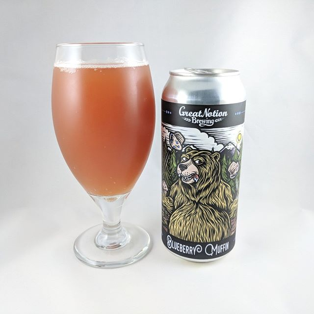 Beer: Blueberry Muffin Style: Sour / Wild Ale ABV: 6.0% IBU: ? Hops: ? ———————————– Brewery: Great Notion – Portland, OR Brewery IG: @greatnotionpdx ———————————– Rating: 4.75/5 Notes: The first of many cans from Great Notion! Worth the wait at the new brewery and it was fun to see where their at with renovations. As soon as the can was opened the entire room filled with a blueberry muffin smell. This sour is amazing. It tastes just like a blueberry muffin, it's not too overly sweet but certainly has a heavy sweetness, and it's got a great color. Try this beer even if you're not into sours. ———————————– #greatnotion #greatnotionbrewery #greatnotionpdx #greatnotion #blueberrymuffin #muffinbeer #blueberry #blueberrybeer #beer #thebeersbeer #beers #cheers #brewery #brew #beersoftheworld #hophead #hops #microbrew #drinkbeer