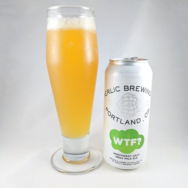 "Beer: WTF (What the Fluff) Style: Hazy IPA ABV: 6.6% IBU: 60 Hops: El Dorado, Mosaic, Amarillo and Comet ———————————– Brewery: Baeralic Brewing – Portland, OR Brewery IG: @baerlicbrewing ———————————– Rating: 4/5 Notes: Solid! Hazy, hoppy but not insane as the can states. That's a good thing. I'm sure there's a lot of hops in there but it isn't one of those ""wow that's hoppy"" beers IMHO. It is a fruity beer but not on the sweet side. It's well balanced with sweet and dry. Good beer to drink a 4 pack. ———————————–"