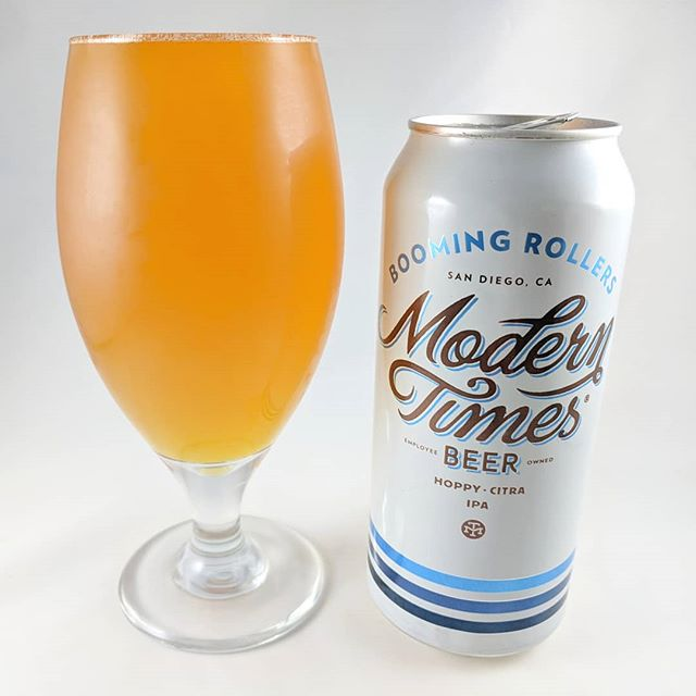 "Beer: Blooming Rollers Style: IPA ABV: 6.8% IBU: 75 Hops: Citra, Motueka, Centennia ———————————– Brewery: Modern Times – Portland, OR Brewery IG: @moderntimesbeer ———————————- Rating: 4.5/5 Notes: ""It's a party in your mouth and all the beautiful people are invited"" Good clarification and not far from being accurate :) This is a tasty beer that certainly is well made, easy to drink and right in that sweet spot of abv. Can Art: It's MT's standard style which while nice and classy isn't very unique. ———————————– What's your opinion on this Blooming Rollers?"