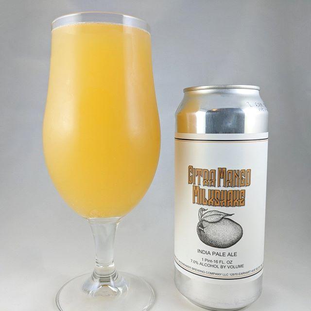Beer: Citra Mango Milkshake