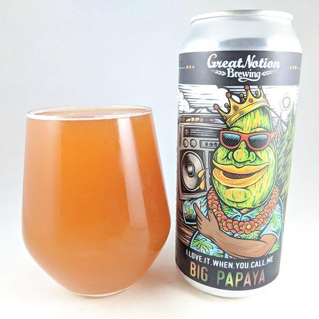 Beer: I Love It When You Call Me Big Papaya