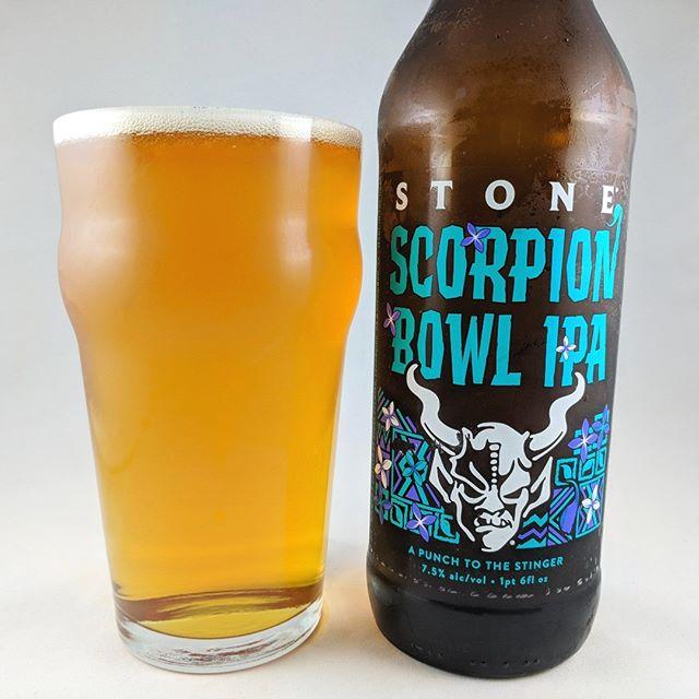 Beer: Scorpion Bowl IPA