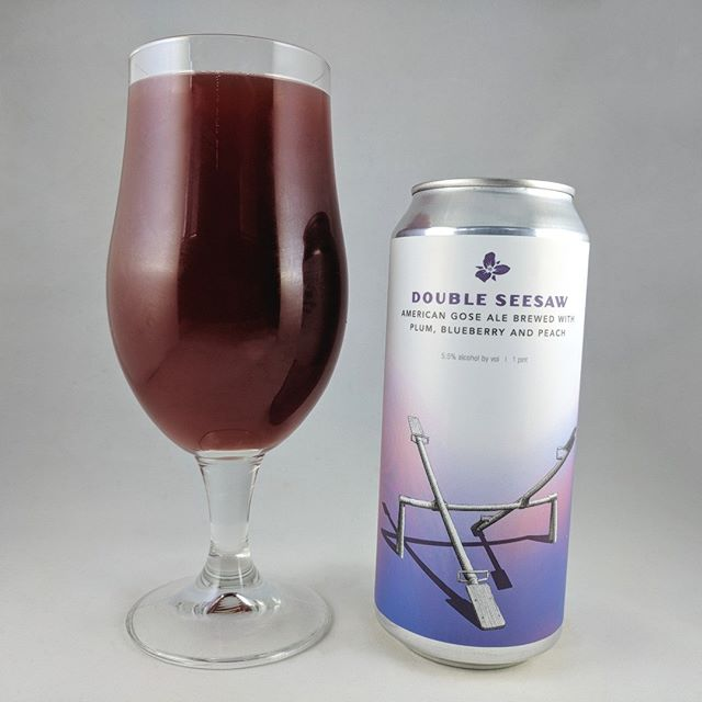 Beer: Double Seesaw: Plum, Blueberry, And Peach