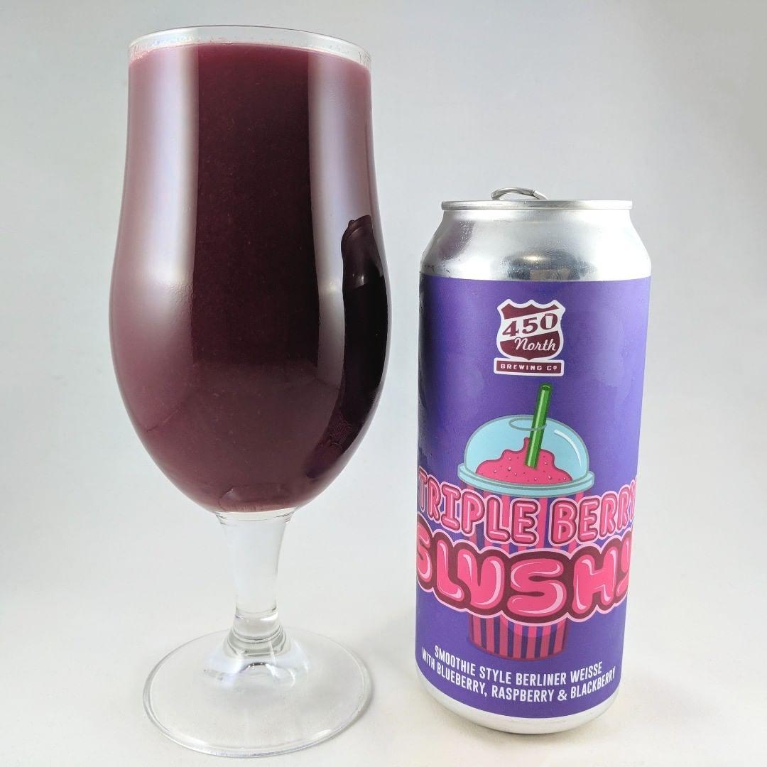 Beer: Triple Berry Slushy