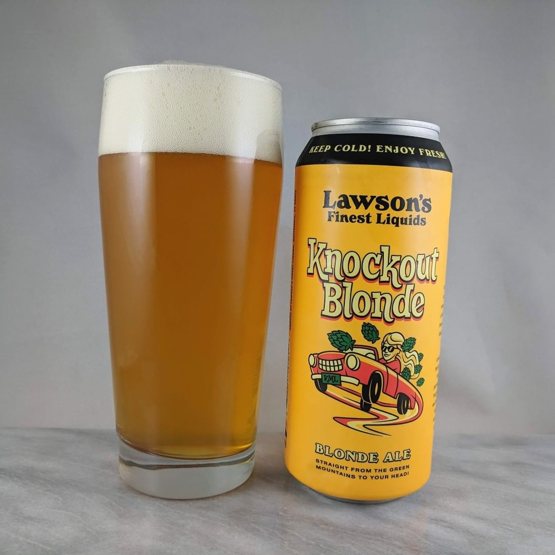 Beer: Knockout Blonde