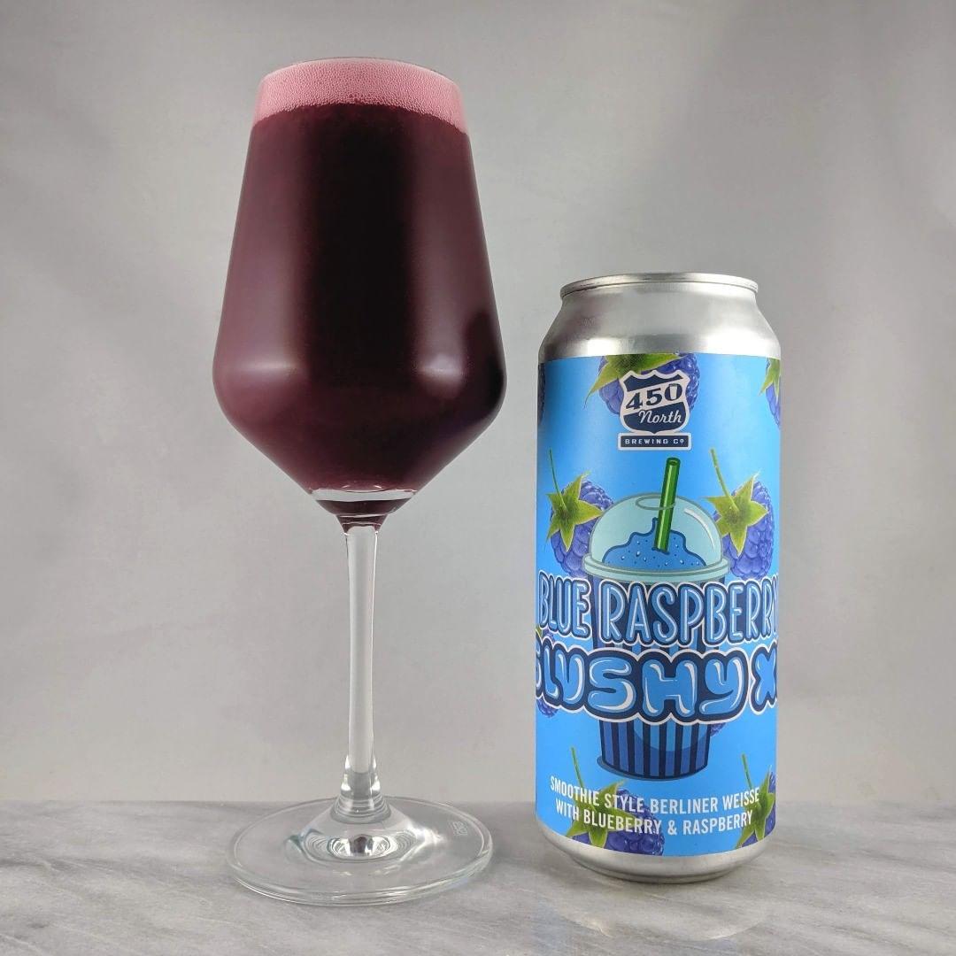 Beer: Blue Raspberry Slushy XL