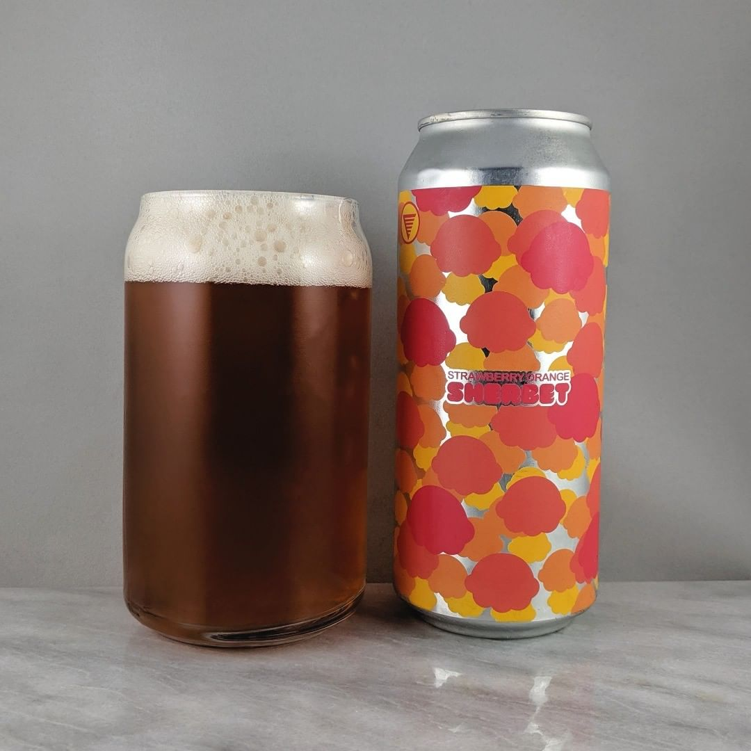 ????: Strawberry Orange Sherbet ?????: Sour ???: 7.2% ???: – ????: – ———————————– ???????: HOMES Brewery – Ann Arbor, MI ??????? ??: @homesbrewery ———————————– ??????: 4/? ?????: A tasty and light beer with lots of fruit flavor. I get the orange mostly but there's some strawberry.  ??? ???: Looks like poka dot ice cream scoops. Nice.  ????????: 16 days after date on can.