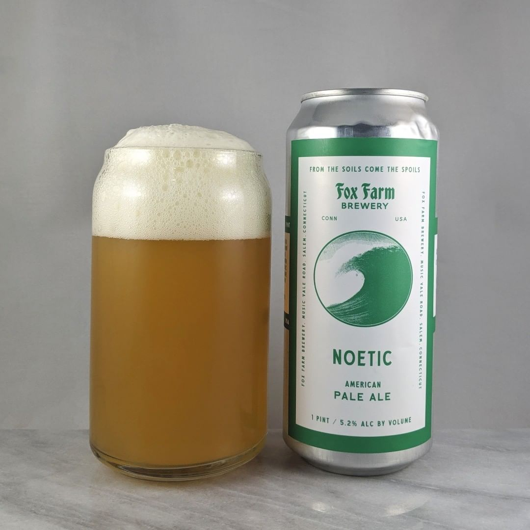 ????: Noetic ?????: Pale Ale ???: 5.2% ???: – ????: Strata, Simcoe, Chinook, and Centenial ———————————– ???????: Fox Farm Brewing – Salem, CT ??????? ??: @foxfarmbeer ———————————– ??????: 3.75/5 ?????: A bit old but still not bad at all. I got a bit of smokiness in there. Very enjoyable.  ??? ???: The simple Fox Farm style. I like it.  ????????: 48 days after date on can.