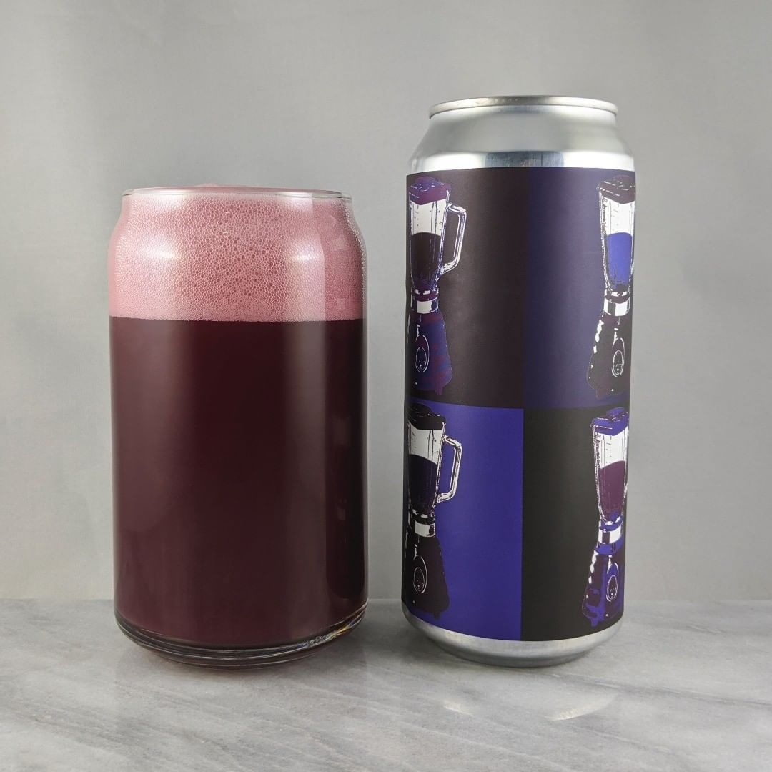 ????: Blender: Black and Blue ?????: Sour ???: 5% ???: – ????: – ———————————– ???????: New Park Brewing – West Hartford, CT ??????? ??: @Newparkbrewing ———————————– ??????: 4.25/? ?????: Great! The fruit flavors of the currant and blueberries are the most apparent but I taste the blackberry a bit. Sweet as expected as it's super fruit style. Not very sour or bitter.  ??? ???: I like the Andy Warhol style that New Park does with the blenders. This one is good.  ????????: 18 days after date on can.