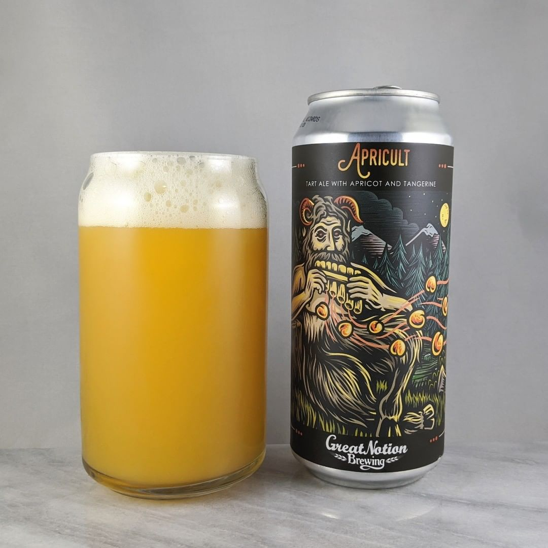 𝐁𝐞𝐞𝐫: Apricult 𝐒𝐭𝐲𝐥𝐞: Sour 𝐀𝐁𝐕: 7.8% 𝐈𝐁𝐔: – 𝐇𝐨𝐩𝐬: Citra ———————————– 𝐁𝐫𝐞𝐰𝐞𝐫𝐲: Great Notion Brewing – Portland, OR and Brujos Brewing 𝐁𝐫𝐞𝐰𝐞𝐫𝐲 𝐈𝐆: @greatnotionpdx and @Brujos_Brewing ———————————– 𝐑𝐚𝐭𝐢𝐧𝐠: 4.5/𝟓 𝐍𝐨𝐭𝐞𝐬: Very nice. Tart with lots of apricot flavors. Always good to get some Brujos. Easy to drink. This is a great beer. Some sweetness.  Great to see this get canned. 𝐂𝐚𝐧 𝐀𝐫𝐭: @timberps with another awesome label design. 𝐃𝐫𝐢𝐧𝐤𝐚𝐠𝐞: 4 days after date on can.