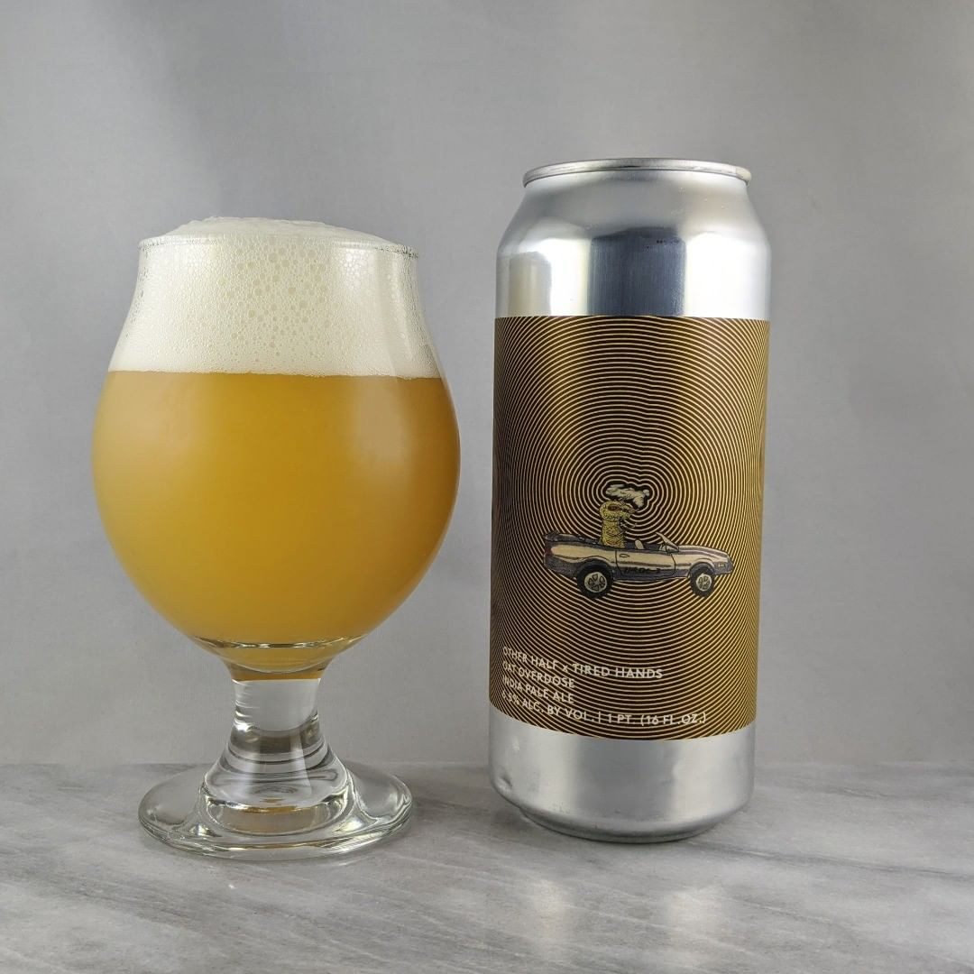 ????: Oat Overdose (2020) ?????: IPA ???: 6.5% ???: – ????: Nelson, Sauvin, Galaxy, Azacca, Amarillo ———————————– ???????: Other Half Brewing Co. – Brooklyn, NY and Tired Hands Brewing – Ardmore, PA ??????? ??: @OtherHalfNYC and @tiredhandsbrewing ———————————– ??????: 4/? ?????: Great one.  Oat hazies are great.  Smooth and easy to drink.  I'm down. ??? ???:  Can labels don't get much better than this. Sick. ????????: No date on can.
