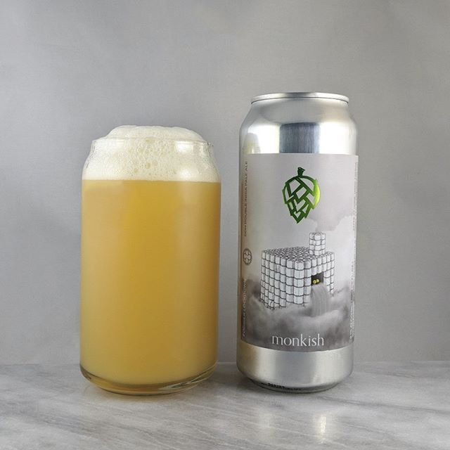 𝐁𝐞𝐞𝐫: Foggier Lockdown 𝐒𝐭𝐲𝐥𝐞: DIPA 𝐀𝐁𝐕: 8.1% 𝐈𝐁𝐔: – 𝐇𝐨𝐩𝐬: Galaxy, Citra, Nelson Sauvin ———————————– 𝐁𝐫𝐞𝐰𝐞𝐫𝐲: Monkish Brewing Company – Torrance, CA 𝐁𝐫𝐞𝐰𝐞𝐫𝐲 𝐈𝐆: @monkishbrewing ———————————– 𝐑𝐚𝐭𝐢𝐧𝐠: 4/𝟓 𝐍𝐨𝐭𝐞𝐬: I think I like the standard foggier better but still a solid beer.  Easy to drink, crushable, and not much hop bitterness.  Not sweet. 𝐂𝐚𝐧 𝐀𝐫𝐭: Perfect for these times… I'm glad I stocked up a while ago :) 𝐃𝐫𝐢𝐧𝐤𝐚𝐠𝐞: 12 days after date on can.