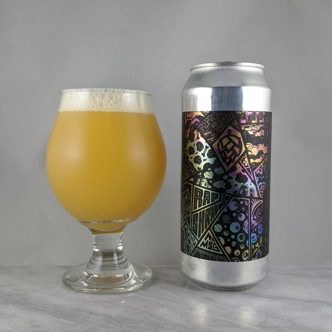 𝐁𝐞𝐞𝐫: Rap Shrapnel 𝐒𝐭𝐲𝐥𝐞: DIPA 𝐀𝐁𝐕: 8.3% 𝐈𝐁𝐔: – 𝐇𝐨𝐩𝐬: Citra, Nelson Sauvin, and Bru-1 ———————————– 𝐁𝐫𝐞𝐰𝐞𝐫𝐲: Monkish Brewing Company – Torrance, CA 𝐁𝐫𝐞𝐰𝐞𝐫𝐲 𝐈𝐆: @monkishbrewing ———————————– 𝐑𝐚𝐭𝐢𝐧𝐠: 4.25/𝟓 𝐍𝐨𝐭𝐞𝐬: Super easy to drink. That Monkish always kills it on the haze. Not sweet and super crushable.  𝐂𝐚𝐧 𝐀𝐫𝐭: Awesome design. Liking it. 𝐃𝐫𝐢𝐧𝐤𝐚𝐠𝐞: 29 days after date on can.
