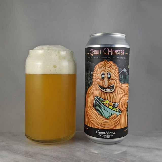 𝐁𝐞𝐞𝐫: Fruit Monster Peach 𝐒𝐭𝐲𝐥𝐞: Fruit/Sour 𝐀𝐁𝐕: 6% 𝐈𝐁𝐔: – 𝐇𝐨𝐩𝐬: – ———————————– 𝐁𝐫𝐞𝐰𝐞𝐫𝐲: Great Notion Brewing – Portland, OR 𝐁𝐫𝐞𝐰𝐞𝐫𝐲 𝐈𝐆: @greatnotionpdx ———————————– 𝐑𝐚𝐭𝐢𝐧𝐠: 4.25/𝟓 𝐍𝐨𝐭𝐞𝐬: Fruity and very flavorful. Peach sticks out the most for me and I'm ok with that. I'm all about peach so I'm happy. Sweet and slightly tart. Not hoppy or bitter.  𝐂𝐚𝐧 𝐀𝐫𝐭: Standard fruit monster can but still nice art work from @timberps  𝐃𝐫𝐢𝐧𝐤𝐚𝐠𝐞: 6 days after date on can.