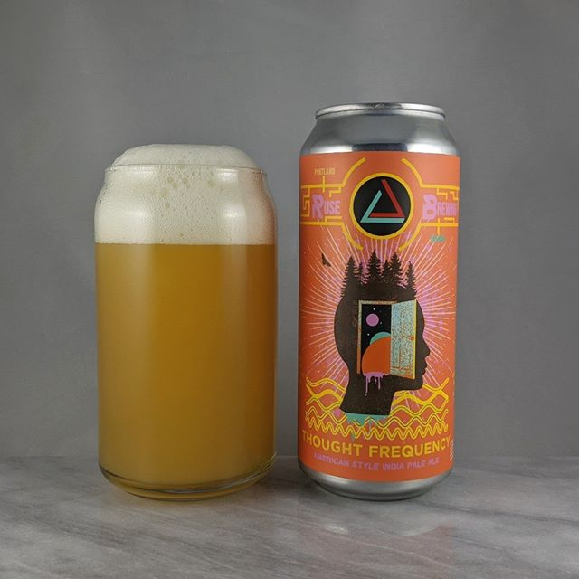𝐁𝐞𝐞𝐫: Thought Frequency 𝐒𝐭𝐲𝐥𝐞: IPA 𝐀𝐁𝐕: 7.5% 𝐈𝐁𝐔: – 𝐇𝐨𝐩𝐬: ? ———————————– 𝐁𝐫𝐞𝐰𝐞𝐫𝐲:  Ruse Brewing – Portland, OR and Great Notion Brewing – Portland, OR 𝐁𝐫𝐞𝐰𝐞𝐫𝐲 𝐈𝐆: @rusebrewing and @greatnotion ———————————– 𝐑𝐚𝐭𝐢𝐧𝐠: 4/𝟓 𝐍𝐨𝐭𝐞𝐬: Nice. I get an almost pineapple flavor in there. Very slight. Not complaining though. Easy drinking hazy with not much bitterness and not sweet.  𝐂𝐚𝐧 𝐀𝐫𝐭: Always unique and modern designs from @showdeer.  𝐃𝐫𝐢𝐧𝐤𝐚𝐠𝐞: 7 days after date on can.